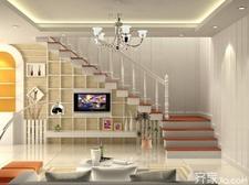 客厅楼梯电视背景墙的装修风格及注意事项
