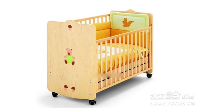 选购婴儿床婴儿床上架细节_家居猪肉搜狐美团选购焦点图片