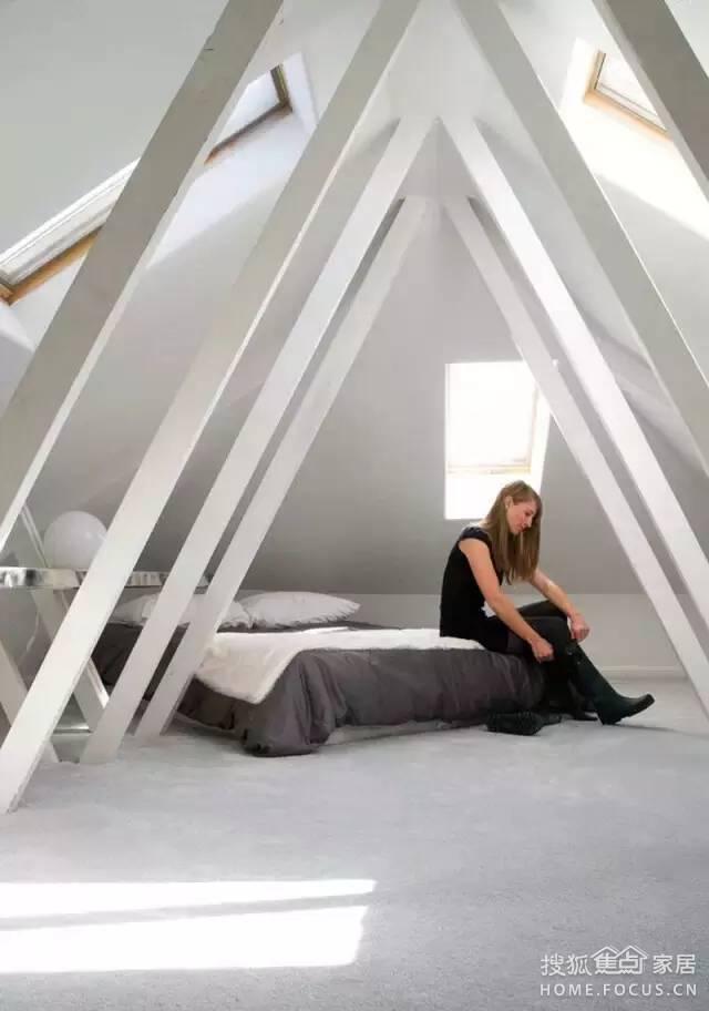 睡这样的卧室,做梦都笑醒_搜狐插画家居_设ppt黑白焦点步聚图片
