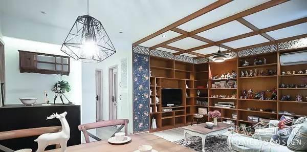 盛世中海85混搭园地装修【亚洲室内设计.第南宁市大唐时尚园林设计图片