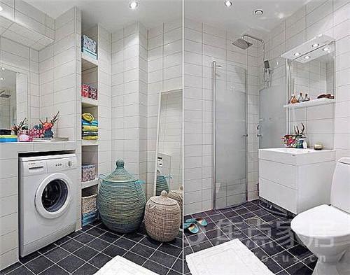 小户型洗手间效果图 以后装修在也不怕啦