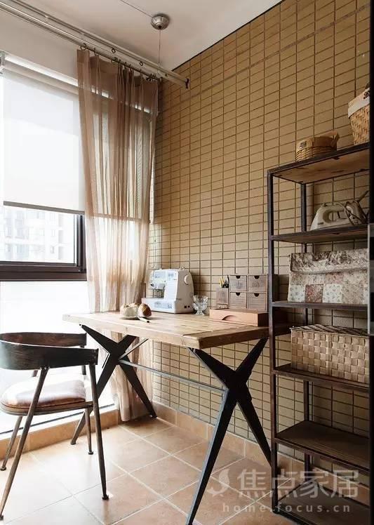 阳台改造计划02变身书房洗衣间_装修设计_搜狐焦点