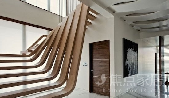 楼梯也疯狂 18个室内楼梯创意设计