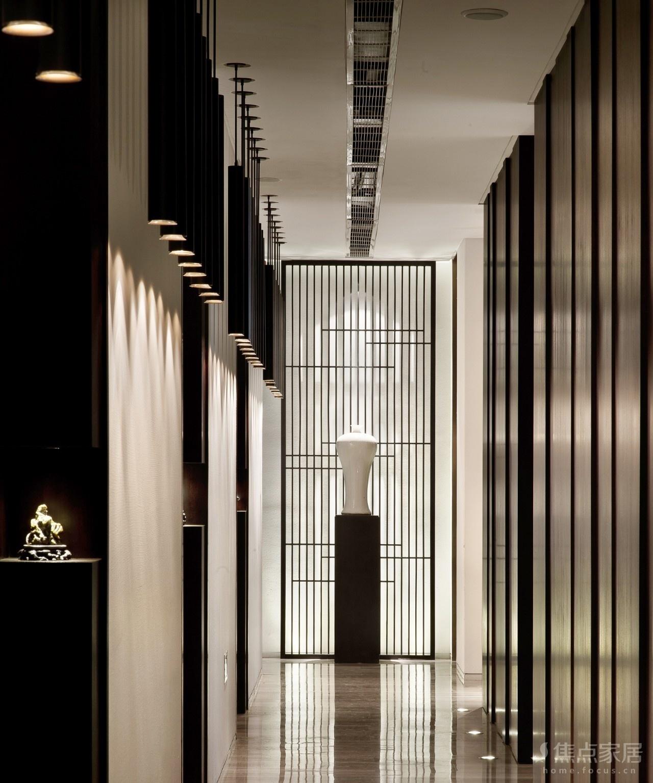(新中式风格)金福轩会所设计【星视素材-765期】
