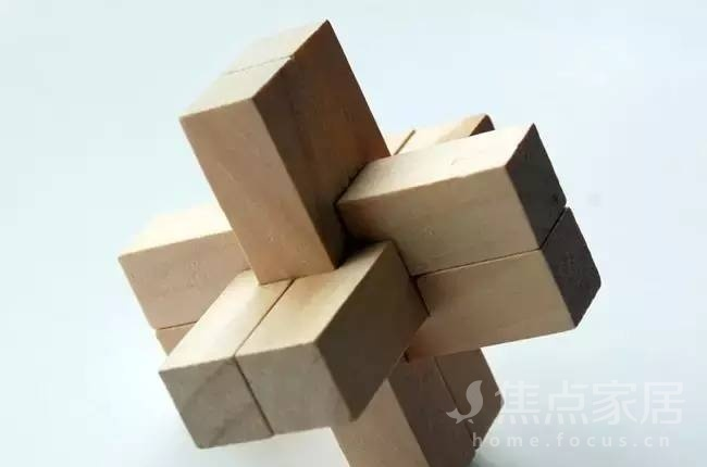 鲁班锁——结构之美,属于中国人自己的魔方!