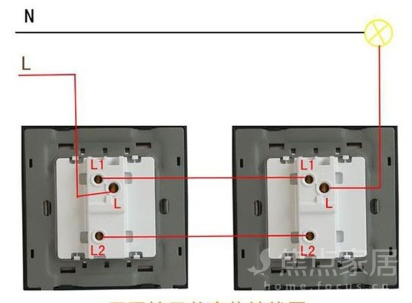 双控开关线路是怎样的 开关线路安装注意事项