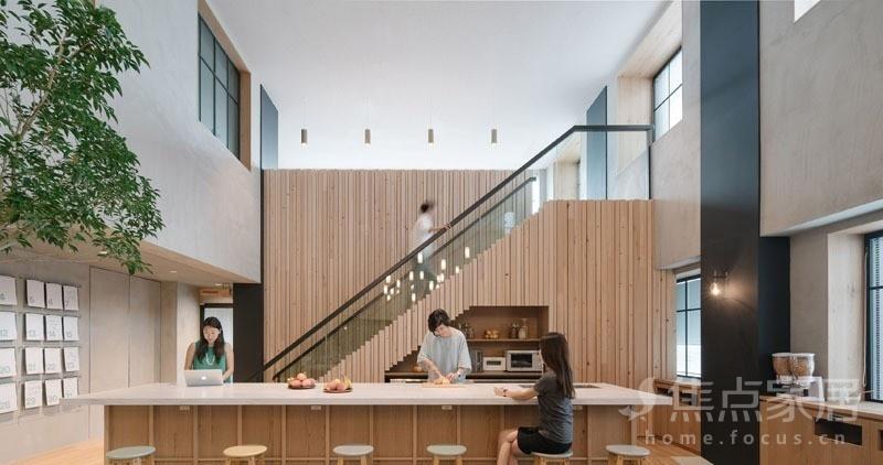 家居 楼梯 起居室 设计 装修 800_422