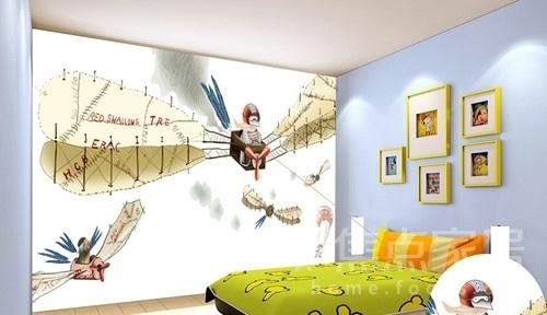 儿童房手绘墙如何设计好