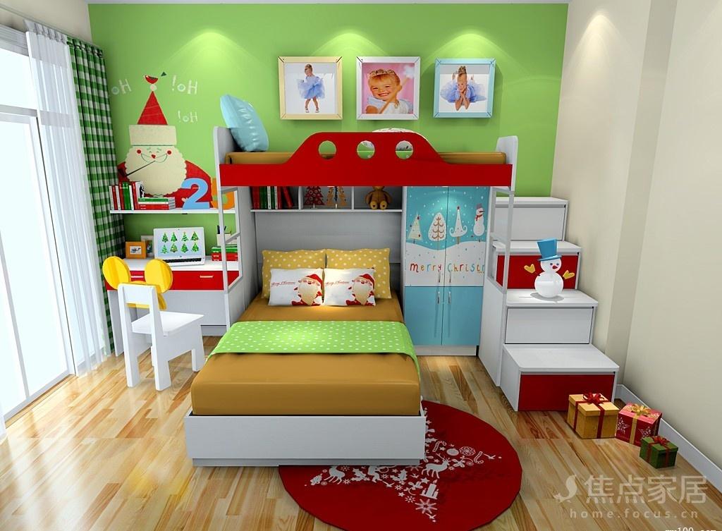 6㎡儿童房装修效果图,先看设计窍门再装!