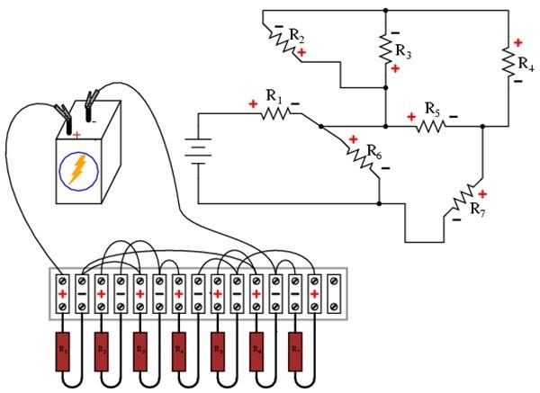 并联电路是电路,线路或元件为达到某种设计要求的功能的连接