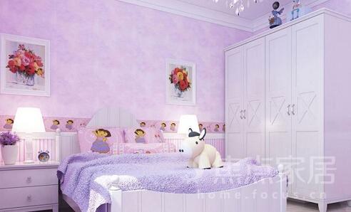 儿童工作房设计 圆了孩子的公主梦