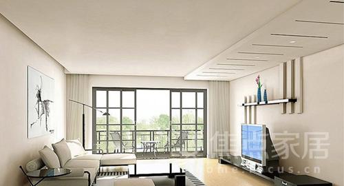 客厅吊顶 客厅吊顶的装修效果图