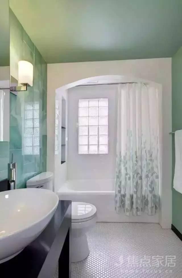 卫生间隔断,镜前灯,洗手盆,装修前必看的设计
