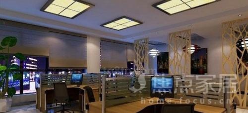 看小办公室装修效果图 学小办公室设计