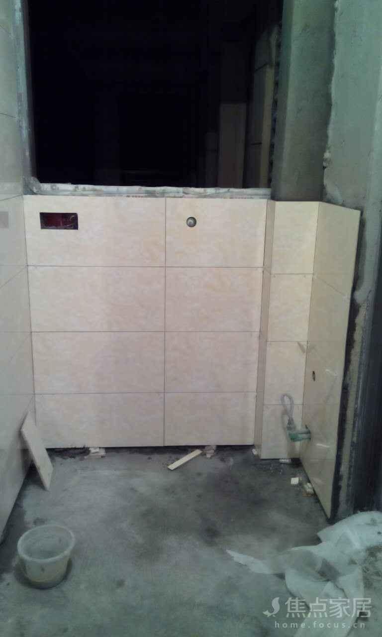 装修日记 详情页  现在开始阳台砖基本已经贴完了,进度是,阳台,卫生间